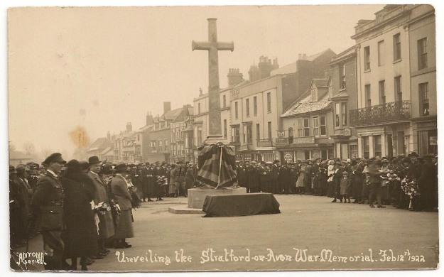 Stratford Memorial 1922