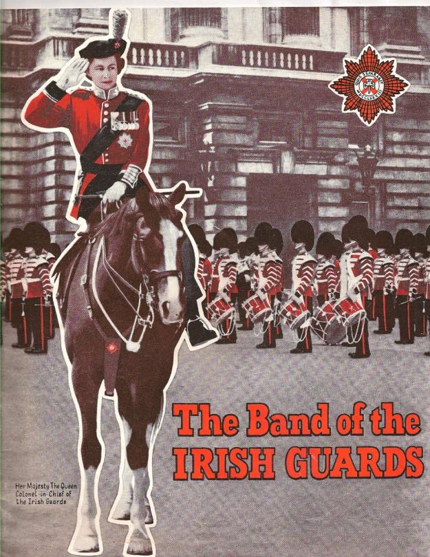 Irish Guards program 1957 b