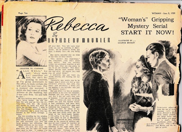 Rebecca serial 1939